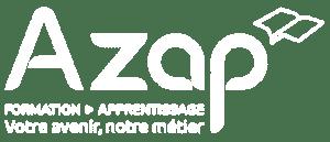logo azap blanc